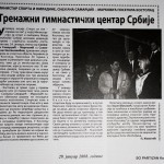 press clipping, SO PARTIZAN Kostolac (4)