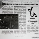 press clipping, SO PARTIZAN Kostolac (6)