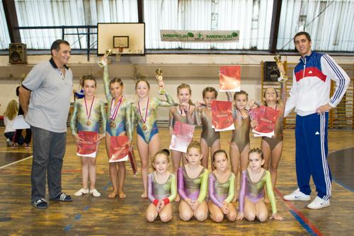 Bronzane medalje za gimnastičarke